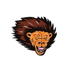 Lion Big Cat Head vector