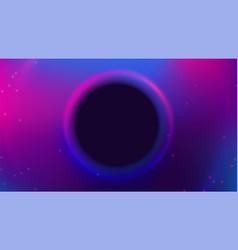 liquid color background design fluid purple blue vector image