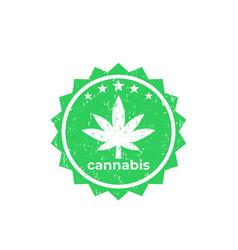 Marijuana cannabis vector