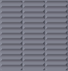 seamless abstract gray pattern with geometric 3 vector image