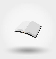 The open book vector
