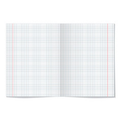 sells notebook paper on white background vector image