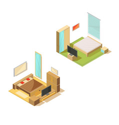 room furniture design collection vector image