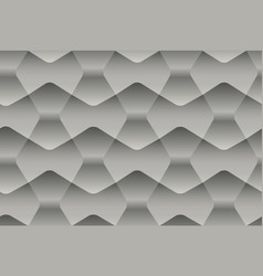 seamless abstract gray pattern with geometric 3d vector image