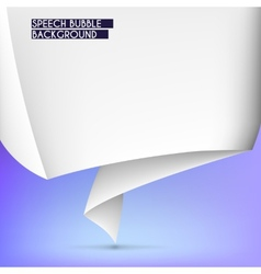 Background with speech bubble vector image vector image