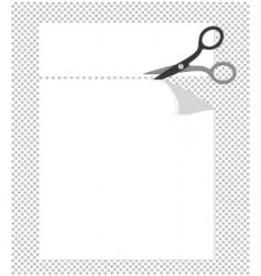 Cut corners vector
