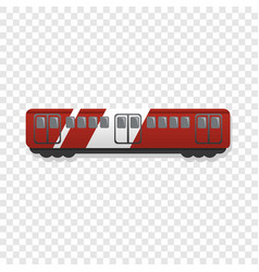 express wagon icon cartoon style vector image
