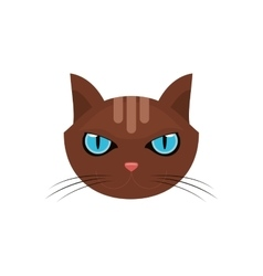 Isolated cat pet design vector