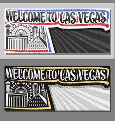 layouts for las vegas vector image