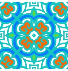 Multicolor ethnic pattern vector