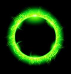 Stars korona Green 01 vector