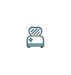 Toaster icon design gastronomy icon vector