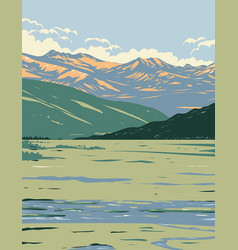 Tower-roosevelt and the lamar valley vector