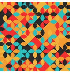 Abstract Geometrical Multicolored mosaic vector image vector image