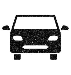 Car Grainy Texture Icon vector image