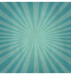 Old Sun Burst Background vector image