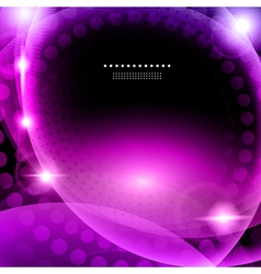 Shiny purple abstract background vector image vector image