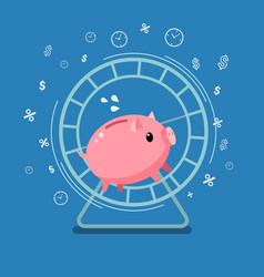 concept of big money vector image