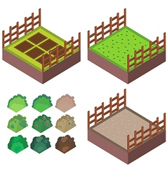 farm iso vector image vector image