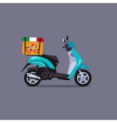 Scooter motorbike vector image