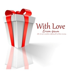 background day valentine vector image