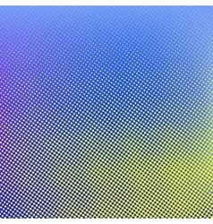 Blue yellow halftone background vector