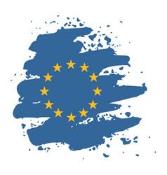 European union symbol vector