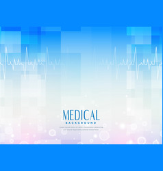 Medical science background for healthcare industry vector