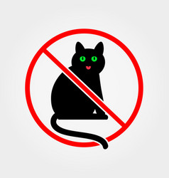 No cats vector