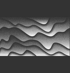 Smooth lines dotwork background vector