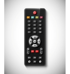 TV remote vector image