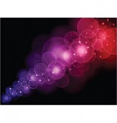 bokeh lights vector image vector image