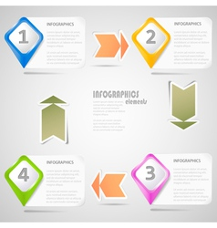 Original Infographics Elements vector image vector image