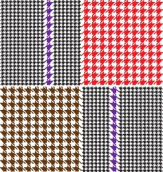 pullover pattern vector image vector image