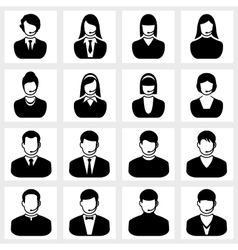 Users icon vector image vector image