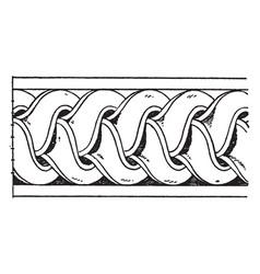 antique enrichment torus moulding is a bundle of vector image