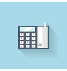 Flat web icon Phone vector image vector image