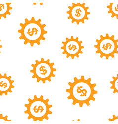 Business and finance management icon seamless vector