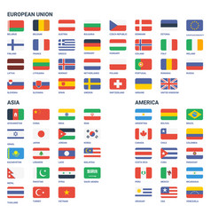 Flags world vector