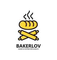 logo of fresh bread vector image