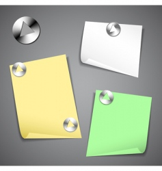 office stationery icons vector image