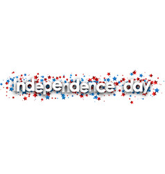usa independence day banner vector image