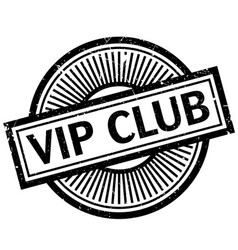 Vip club rubber stamp vector