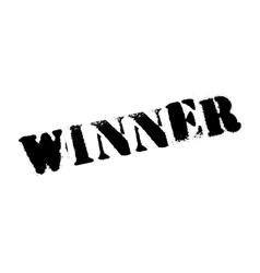 Winner stamp rubber grunge vector