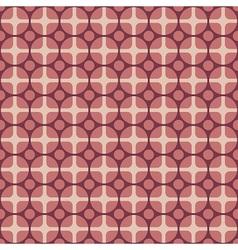 Retro fabric pattern vector image