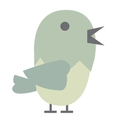 Cute bird vector image vector image