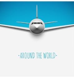 Around world vector