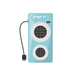 Audio speaker isolated icon vector