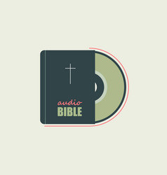 bible in audio format vector image vector image