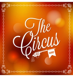 Holiday circus vector